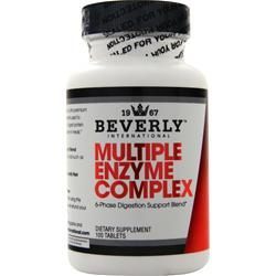 Beverly International MULTIPLE ENZYME COMPLEX 100 Tablets - Fitness Mania Supps