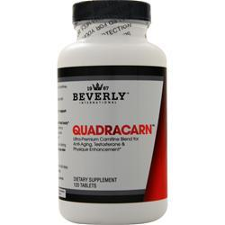 Beverly International QUADRACARN 120 Tablets - Fitness Mania Supps
