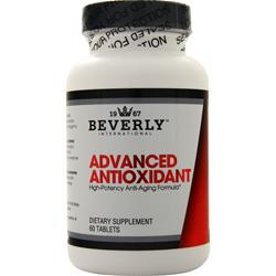 Beverly International ADVANCED ANTIOXIDANT 60 Tablets - Fitness Mania Supps