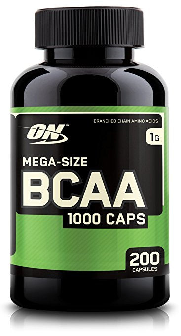 Optimum Nutrition BCAA 1000 Caps 200 Capsules - Fitness Mania Supps