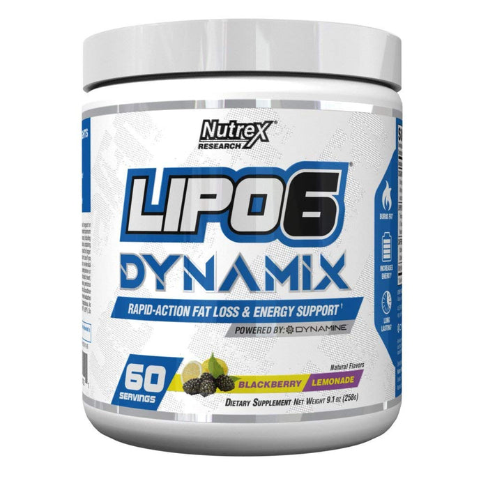 Nutrex LIPO-6 DYNAMIX 60 Servings - Fitness Mania Supps