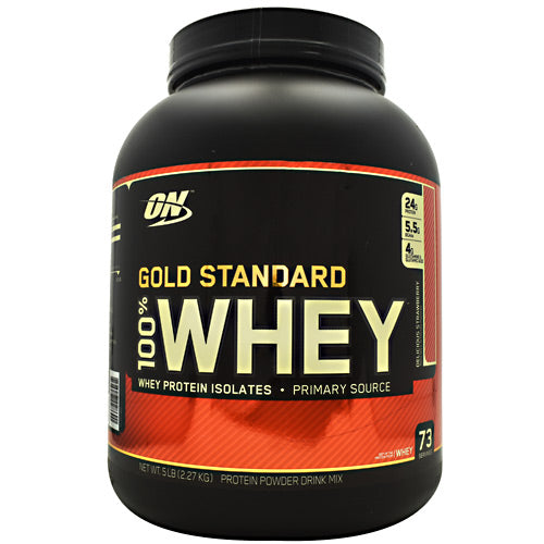 Optimum Nutrition Gold Standard 100% Whey 5lbs - Fitness Mania Supps