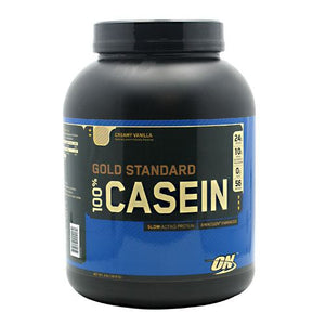 Optimum Nutrition GOLD STANDARD 100% CASEIN 4lbs - Fitness Mania Supps