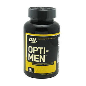 Optimum Nutrition OPTI-MEN 150 Tablets - Fitness Mania Supps