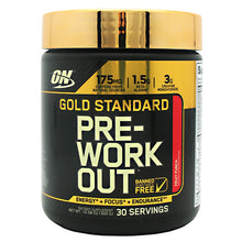 Optimum Nutrition GOLD STANDARD PRE WORKOUT 30 Servings - Fitness Mania Supps