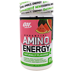Optimum Nutrition AMINO ENERGY NATURALLY FLAVORED 25 Servings - Fitness Mania Supps