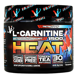 VMI Sports L-CARNITINE 1500 HEAT POWDER 30 Servings - Fitness Mania Supps