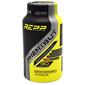 REPP SPORTS PHENIBUT 90 Capsules - Fitness Mania Supps
