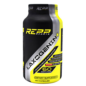 REPP SPORTS LAXOGENIN+ 60 Capsules - Fitness Mania Supps