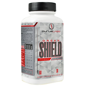 Purus Labs ORGAN SHIELD 60 Capsules - Fitness Mania Supps