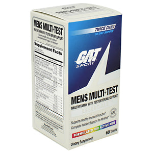 GAT MENS MULTI + TEST 60 Tablets - Fitness Mania Supps