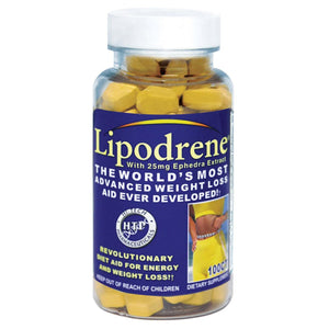 Hi-Tech Pharmaceuticals Lipodrene With Ephadra 100 Tablets - Fitness Mania Supps