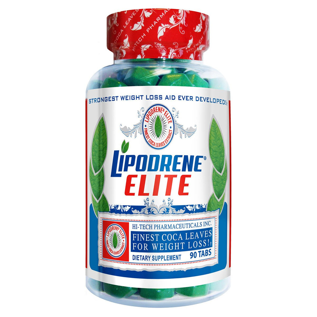 Hi-Tech Pharmaceuticals LIPODRENE ELITE 90 Tablets - Fitness Mania Supps