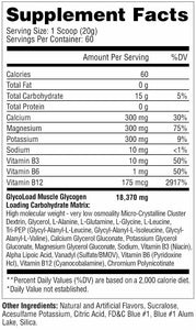 Metabolic Nutrition GLYCOLOAD 60 Servings - Fitness Mania Supps