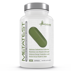 Metabolic Nutrition METATEST 240 Capsules - Fitness Mania Supps