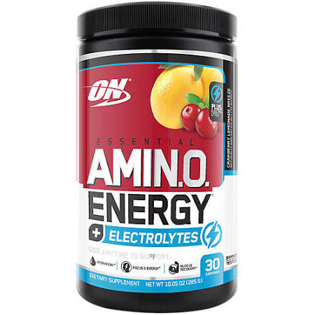 Optimum Nutrition AMINO ENERGY + ELECTROLYTES 30 Servings - Fitness Mania Supps