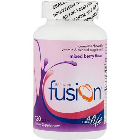 Bariatric Fusion Multivitamin and Mineral Supplement 120 Tablets - Fitness Mania Supps