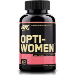 Optimum Nutrition OPTI-WOMEN 60 Capsules - Fitness Mania Supps