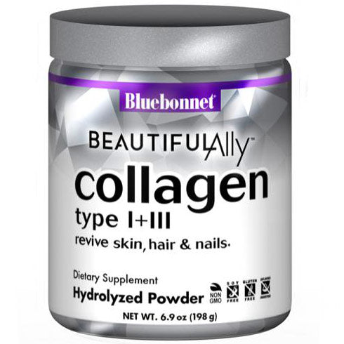 Bluebonnet Beautiful Ally Collagen Type l + lll Powder 6.9oz - Fitness Mania Supps