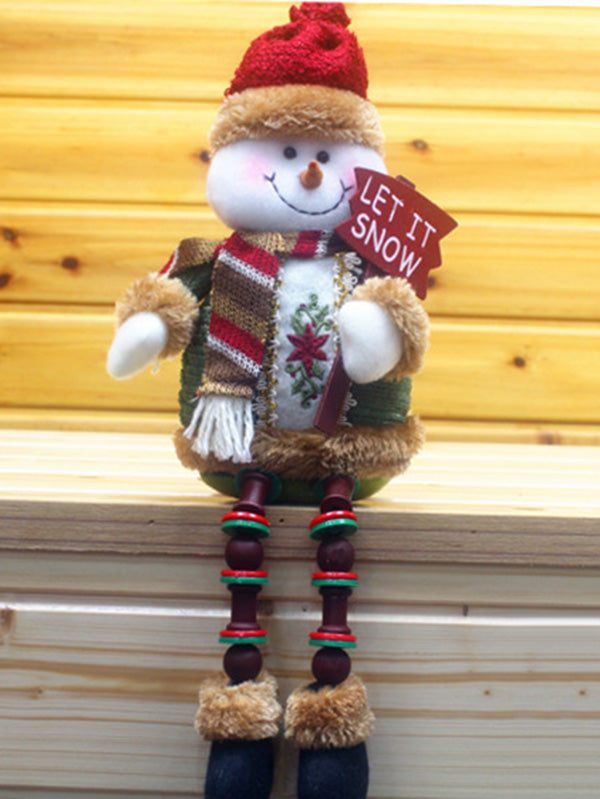 Lovely  Snowman&Elk Christmas Decoration