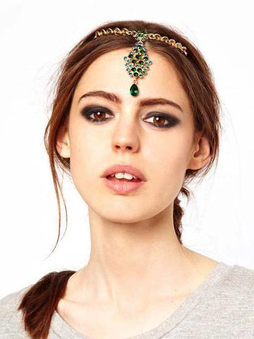 Bohemian Retro Cross hair Headwear Accessories