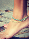 Beautiful Starfish&Circle Footchain Accessories