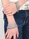 Euro Fashion  Bohemia Metal Texture Tassels Footchain Accessories