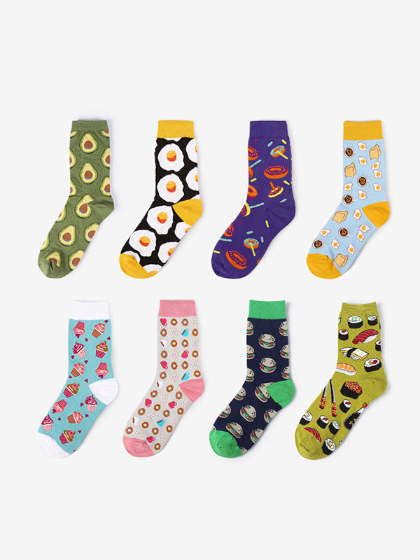 Lovely Picture Printed Socks