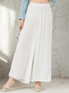Ramie Cotton V-neck Sleeveless Maxi Dress