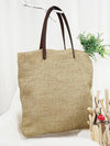 3 Colors Simple Literature Linen Shoulder Bag