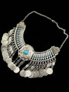 Bohemia Coin Tassels Collar Necklaces Accessories
