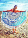 Classical Summer Bohemia Rectangle Shawl Beach Mat Yoga Mat