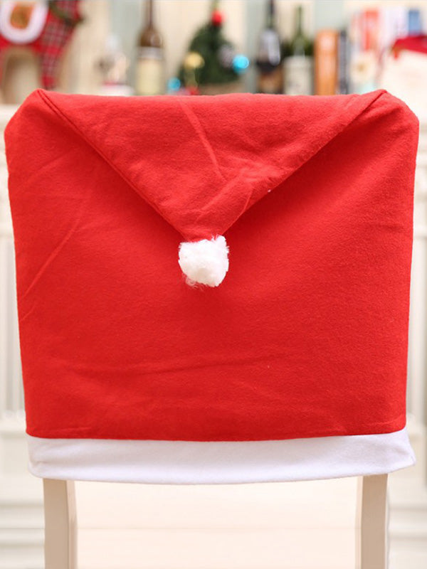 Charpie Santa Hat Chair Cover