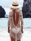 Bohemia Emboridered Tassel Printed Beach Cover-ups