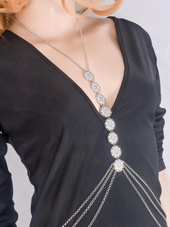 Punk Multilayer Tassels Body Chain & Footchain Accessories