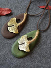 Big maple leave Necklaces