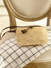 Knitted Korean Tasseled Single-shoulder Bag