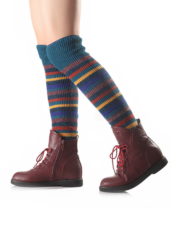 Bohemia 7 Colors Knitting Stocking