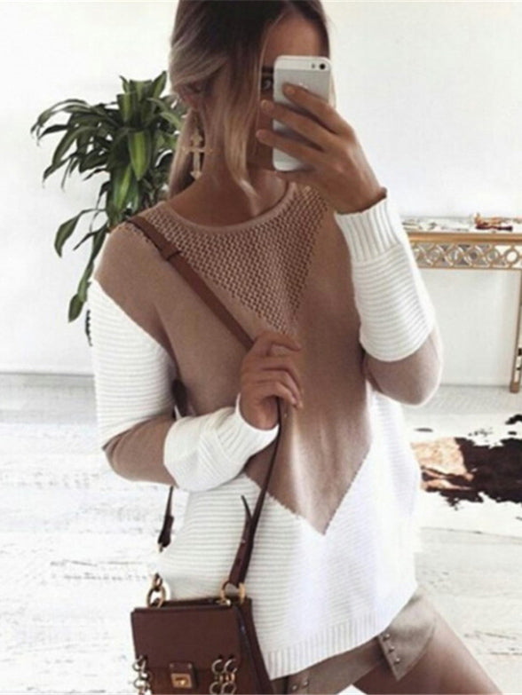 Fashion Hollow Sweater Tops