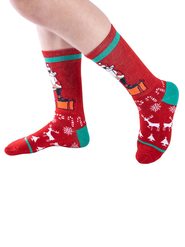 Christmas Printed Socks