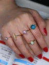 4PCS Silver&5PCS Gold Vintage Rings Accessories