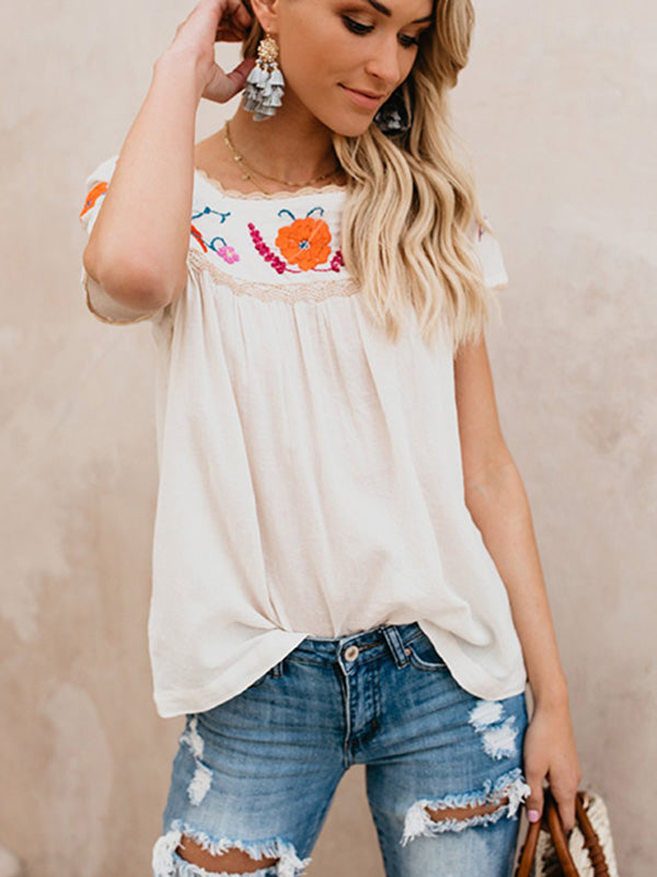 Short Sleeves Blouse&shirt Tops