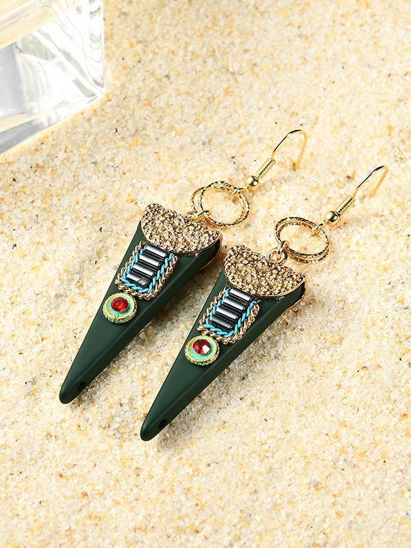 Fashion Bohemia Geomertry Earrings