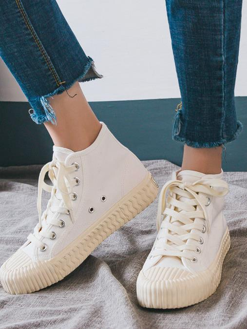 Casual Canvas High Top Sneakers