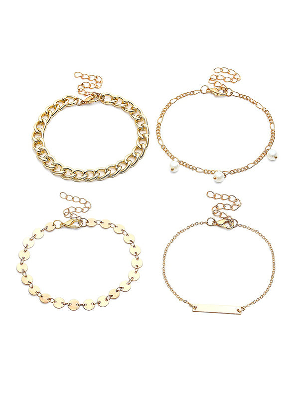 Fashion Multi-layered Alloy Bracelet Accessories