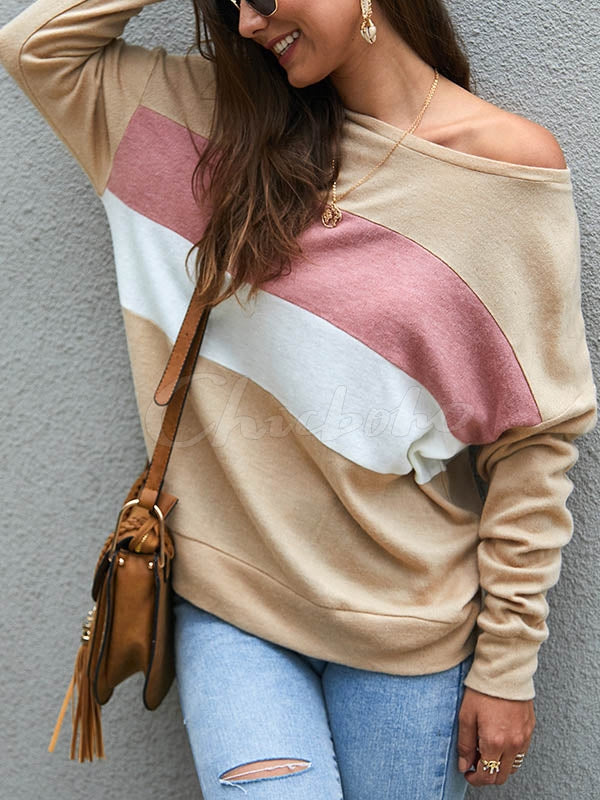 Loose Striped Sweater