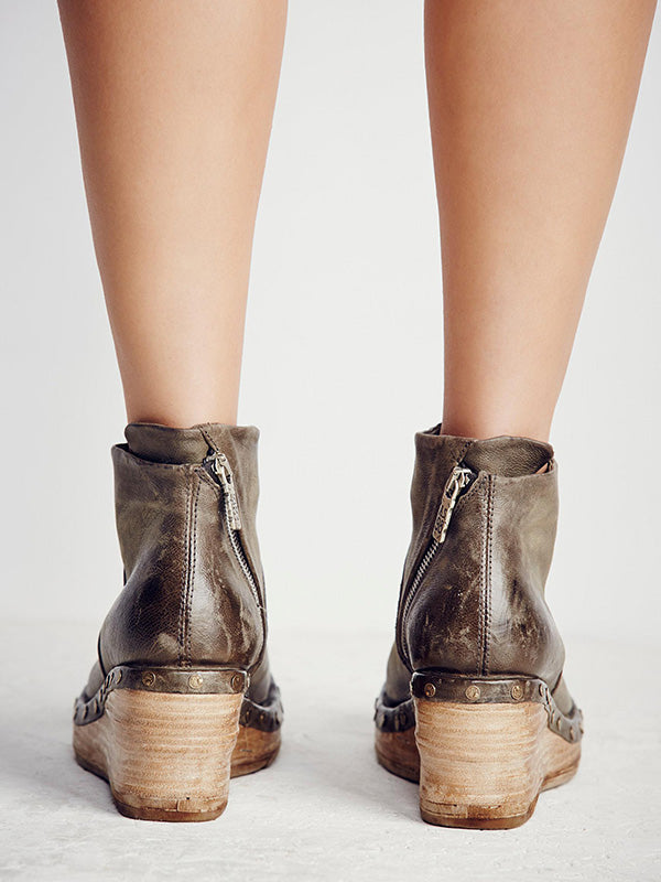 Fashion Style Wedge Boots