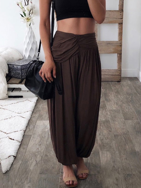 Loose Wide Leg Casual Pants