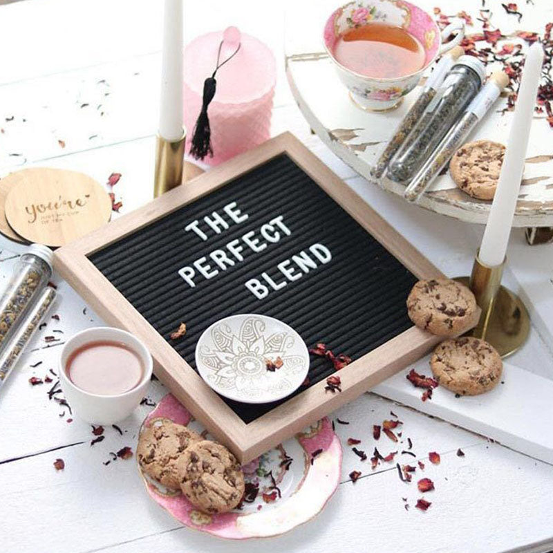 Felt Letterboard Photo Frame Home Decoration