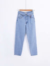 Fashion Loose High Waist Jeans Pants Bottoms